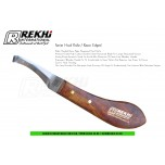 RIGHT HANDED HKS-07 DOUBLE ENDED STANDARD HOOF KNIFE